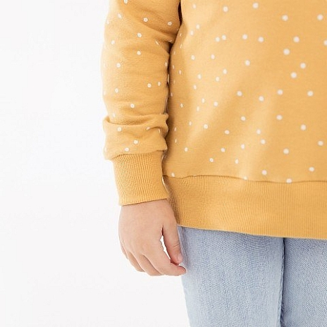Mirabelleshop be See You At Six SYAS Snow dots Honey yellow French terry 3 480x480